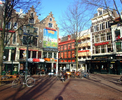 Leidseplein Amsterdam Hoteles